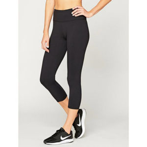 Stitch Fix T4T Monica Cropped Black Leggings NWOT
